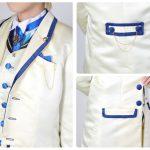 ★衣装作例★FGO アーサー・ペンドラゴン ホワイトローズ風衣装 その3
