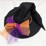 ★衣装作例★帽子を土台にした魔女の帽子の作り方!!